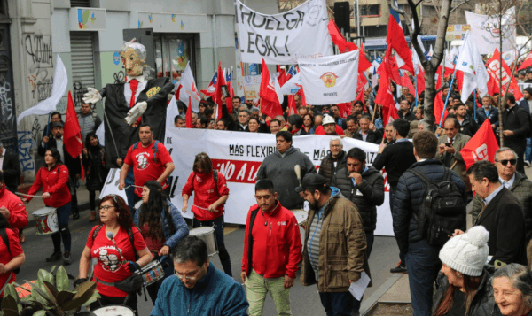 chile greve geral